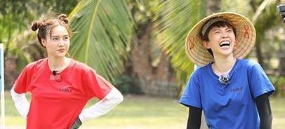 Toc Tien nhiet tinh, Lan Ngoc met moi trong Running Man tap 13 hinh anh