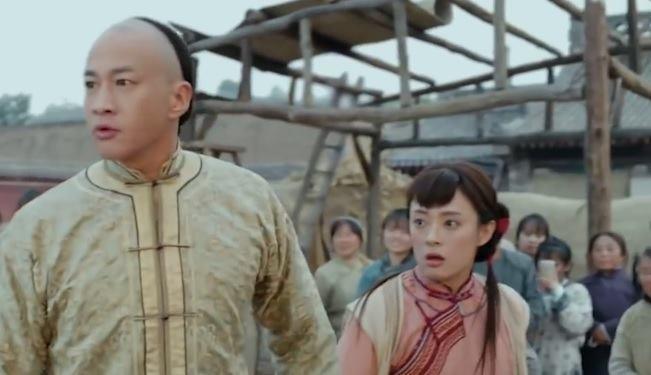 Ky xao va hau truong gay cuoi trong phim co trang Trung Quoc hinh anh