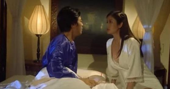 Hanh Nhi len vao phong, om hon con cua chong o 'Tieng set trong mua' hinh anh