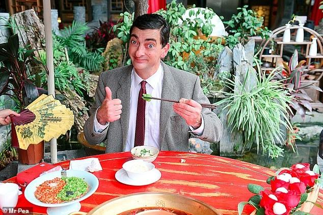 Ban sao Mr. Bean o lai Vu Han vi so phat tan virus neu ve Anh hinh anh 1 51.jpg
