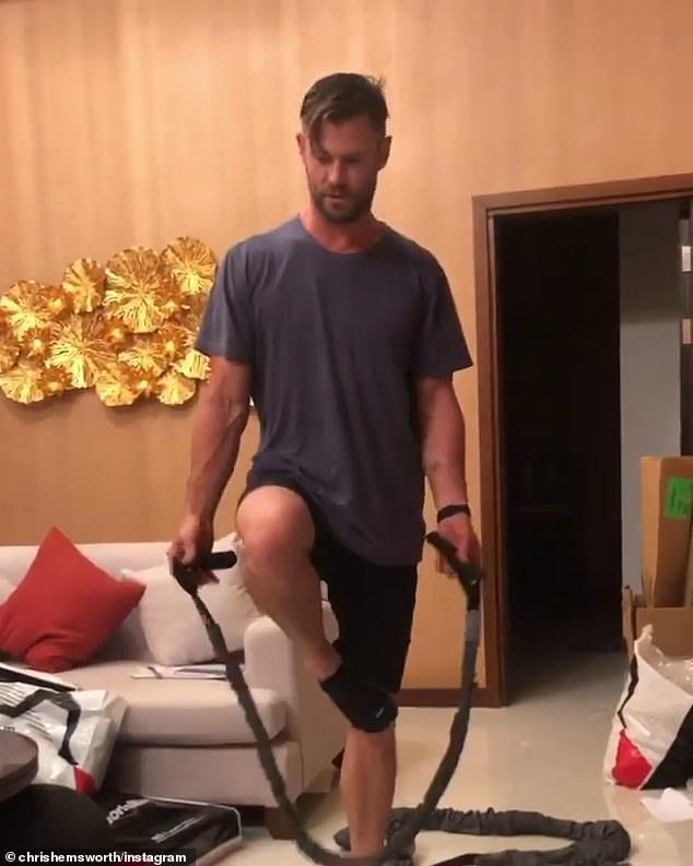 Hau truong tap luyen cua Chris Hemsworth trong 'Extraction' hinh anh 1 5.jpg