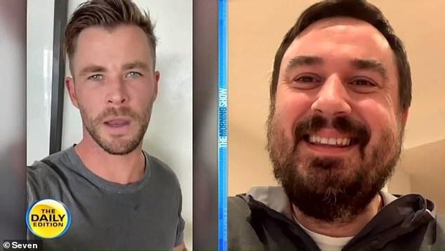 Chris Hemsworth giup nan nhan vu danh bom anh 1