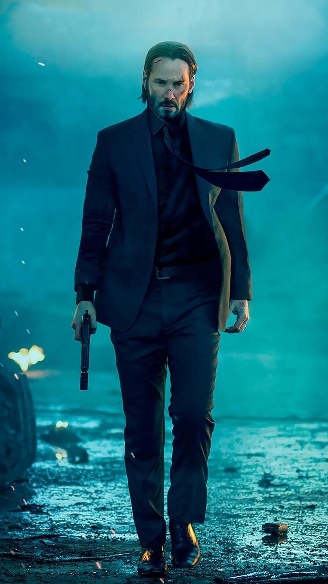 Loat phim hanh dong 'John Wick' chua dung lai o phan 4