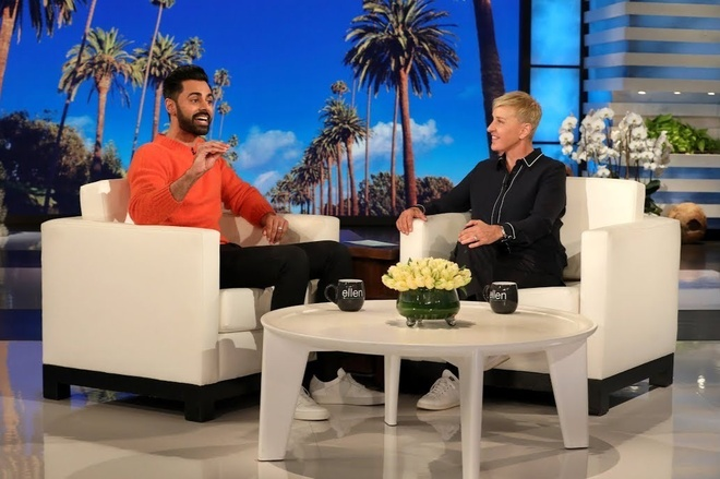 Ellen DeGeneres bat nat khach moi anh 5