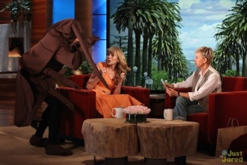 Ellen DeGeneres bat nat khach moi anh 6