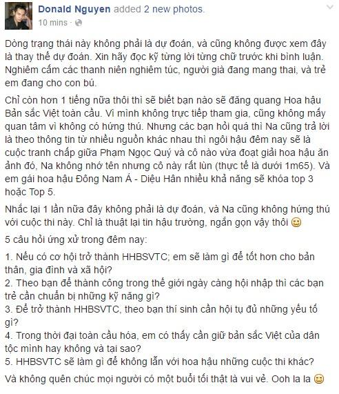 Tran Thu Ngan dang quang Hoa hau Ban sac Viet hinh anh 3