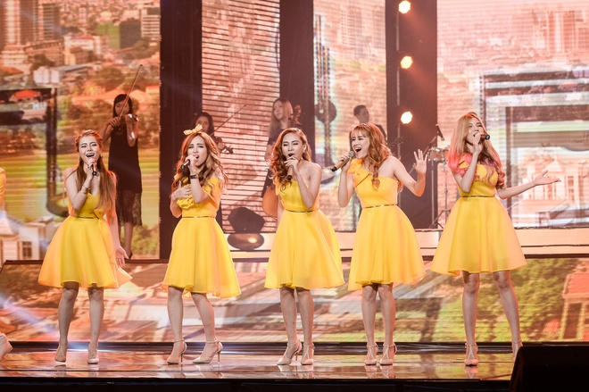 Chung ket cuoc thi X Factor anh 9