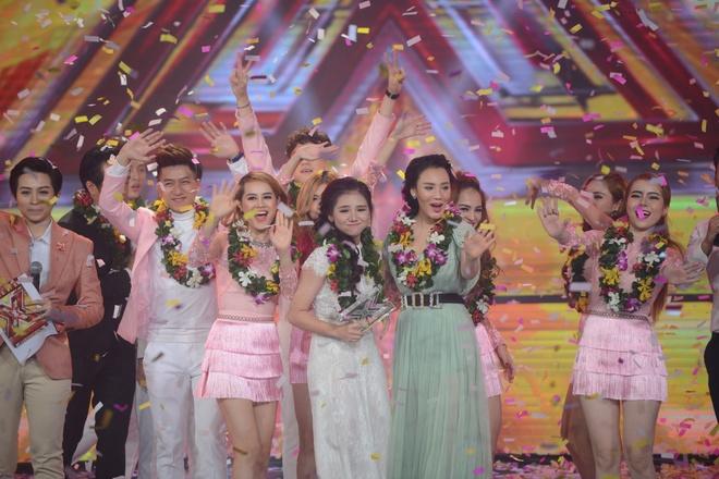 Chung ket cuoc thi X Factor anh 17