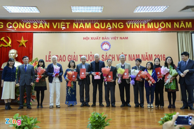 Giai thuong sach Viet Nam 2016 anh 2