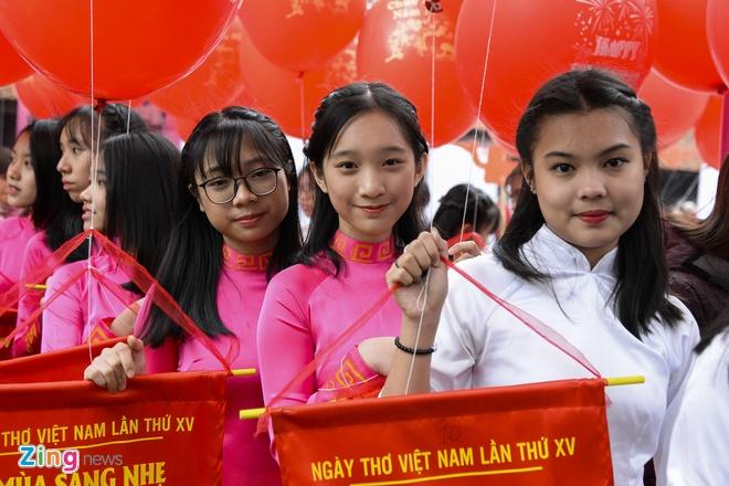 Ngay tho Viet Nam soi dong tai Van Mieu hinh anh 14