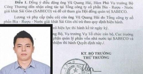 Con trai ong Vu Huy Hoang co the nhan hon 1 ty tien luong hinh anh 1