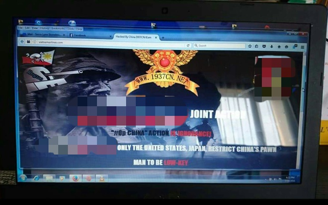 Web Vietnam Airlines bi hack, lo 400.000 du lieu khach hang hinh anh