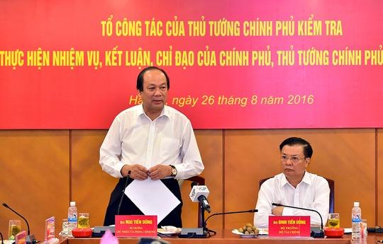 5 nhiem vu Bo Tai chinh chua hoan thanh hinh anh 1