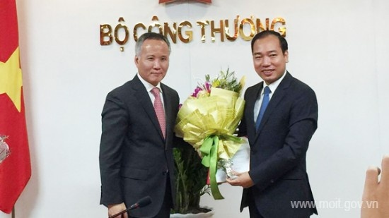 Bo Cong Thuong thay Vu truong To chuc can bo hinh anh 1