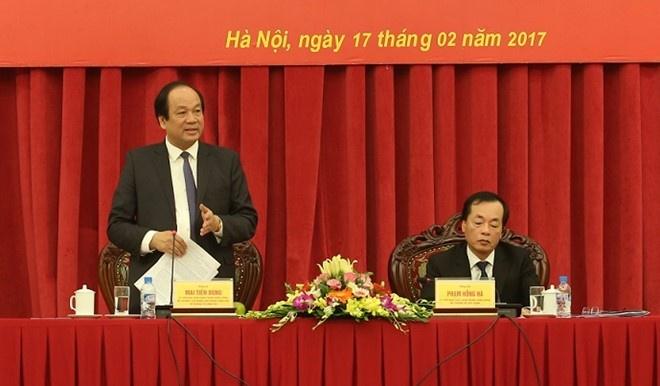 To Cong tac cua Thu tuong lam viec voi Bo Xay dung anh 1