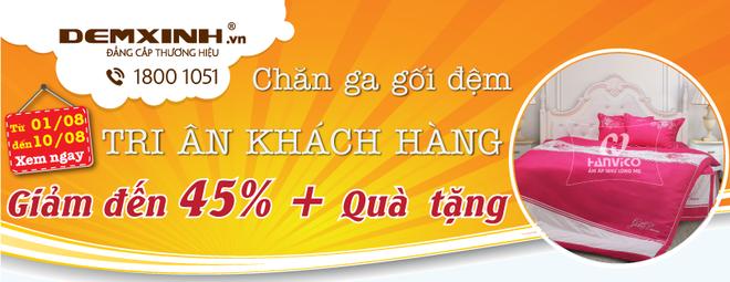 Dem Xinh tri an khach hang uu dai den 45% hinh anh 1