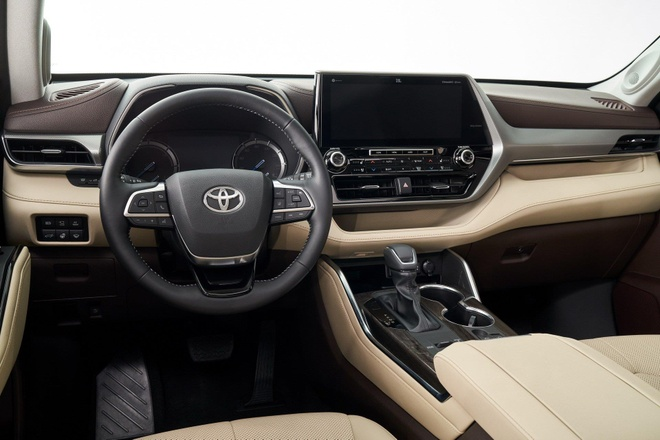 SUV gia dinh Toyota Highlander 2020 lo dien, thiet ke thuc dung hon hinh anh 10