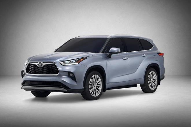 SUV gia dinh Toyota Highlander 2020 lo dien, thiet ke thuc dung hon hinh anh 1