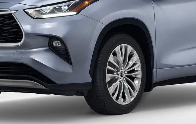 SUV gia dinh Toyota Highlander 2020 lo dien, thiet ke thuc dung hon hinh anh 12