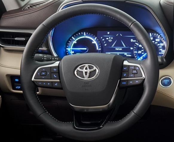 SUV gia dinh Toyota Highlander 2020 lo dien, thiet ke thuc dung hon hinh anh 14