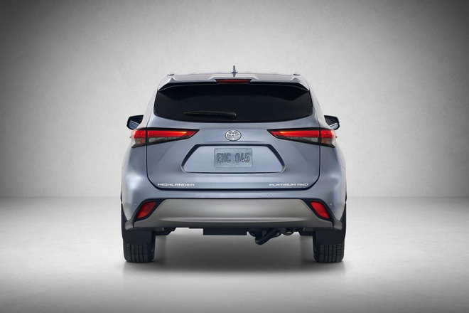 SUV gia dinh Toyota Highlander 2020 lo dien, thiet ke thuc dung hon hinh anh 16