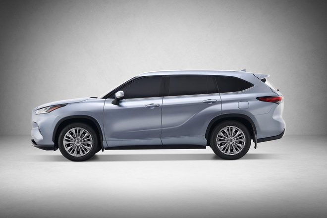 SUV gia dinh Toyota Highlander 2020 lo dien, thiet ke thuc dung hon hinh anh 4