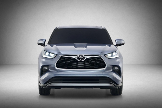 SUV gia dinh Toyota Highlander 2020 lo dien, thiet ke thuc dung hon hinh anh 3