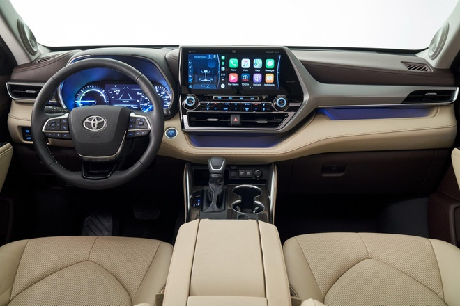 SUV gia dinh Toyota Highlander 2020 lo dien, thiet ke thuc dung hon hinh anh 13