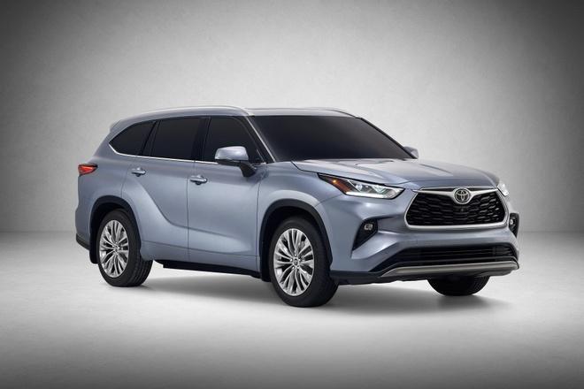SUV gia dinh Toyota Highlander 2020 lo dien, thiet ke thuc dung hon hinh anh 11