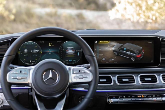 Trai nghiem kha nang off-road cua SUV hang sang Mercedes GLS 2020 hinh anh 10