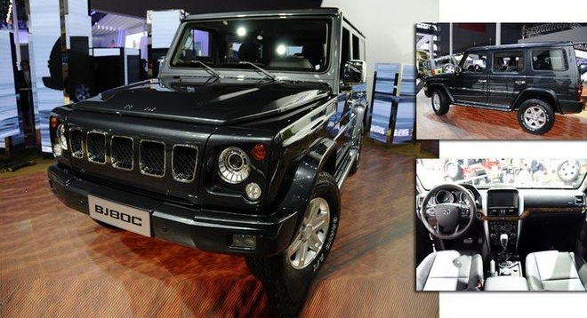 Xe Trung Quoc nhai Mercedes G-Class, giong ca tieng dong cua hinh anh 2