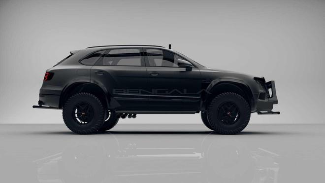 SUV mang hinh dang xe tang cua Bentley anh 3