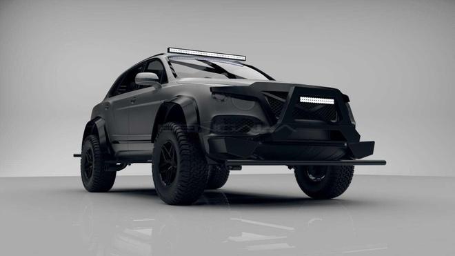 SUV mang hinh dang xe tang cua Bentley anh 1