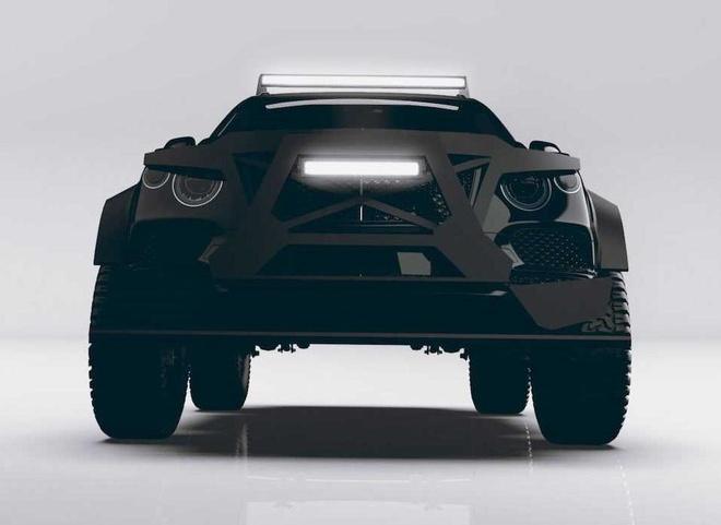 SUV mang hinh dang xe tang cua Bentley anh 8