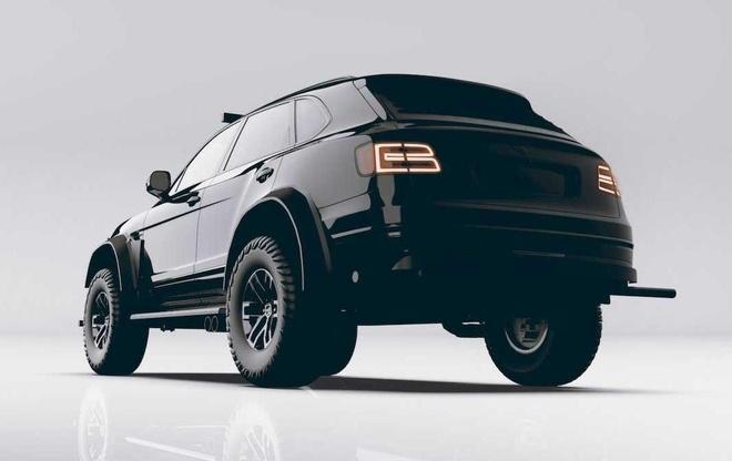 SUV mang hinh dang xe tang cua Bentley anh 6