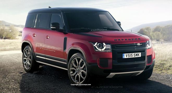 Land Rover Defender 2020 - 'dap di xay lai' toi muc khong nhan ra hinh anh 1