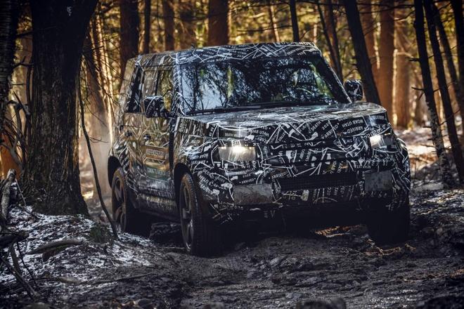 Land Rover Defender 2020 - 'dap di xay lai' toi muc khong nhan ra hinh anh 3
