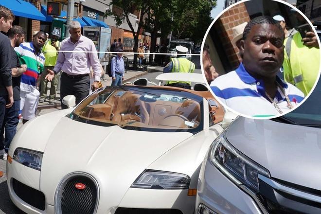Sieu xe 2 trieu USD Bugatti Veyron vua duoc mua it phut da gap tai nan hinh anh 1