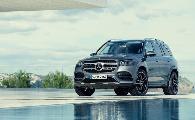 Mercedes-Benz GLS 2020 them cong nghe, gia dat hon hinh anh 1