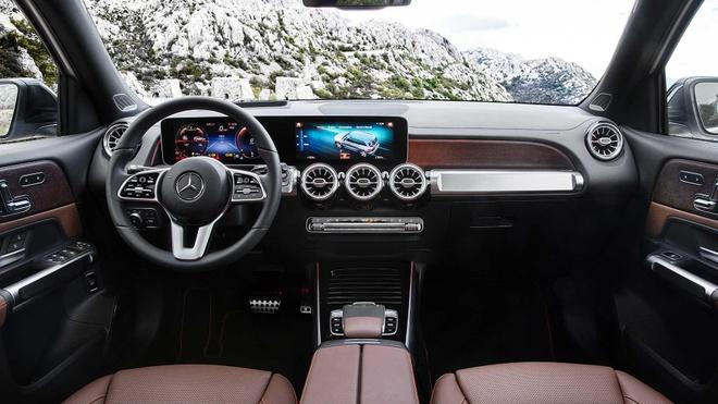 SUV 7 cho 'gia re' Mercedes GLB ra mat, ban ra cuoi nam hinh anh 5