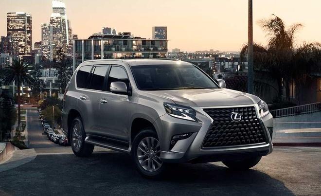 Lexus GX 2020 lo dien, luoi tan nhiet sieu lon, tang kha nang off-road hinh anh 3