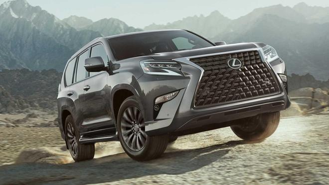 Lexus GX 2020 lo dien, luoi tan nhiet sieu lon, tang kha nang off-road hinh anh 1