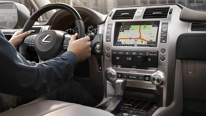 Lexus GX 2020 lo dien, luoi tan nhiet sieu lon, tang kha nang off-road hinh anh 6