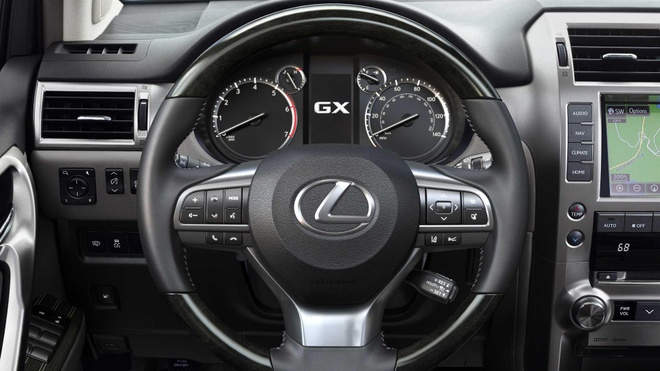 Lexus GX 2020 lo dien, luoi tan nhiet sieu lon, tang kha nang off-road hinh anh 7