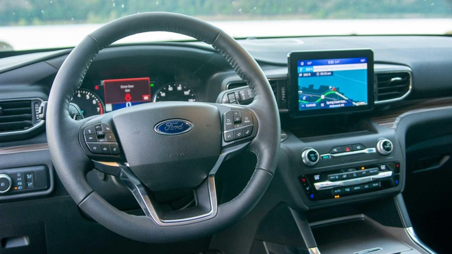 Lai thu Ford Explorer 2020: Them suc manh nhung con khong it han che hinh anh 19