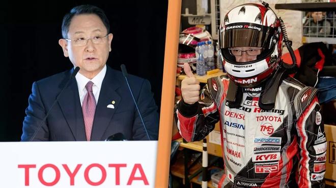 chu tich Toyota dua xe anh 2