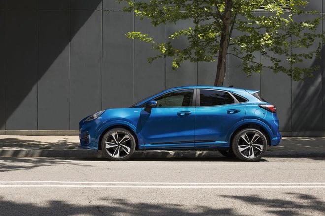 Crossover co nho Ford Puma ra mat, anh em cua Fiesta va EcoSport hinh anh 4