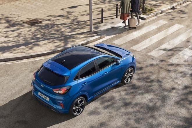 Crossover co nho Ford Puma ra mat, anh em cua Fiesta va EcoSport hinh anh 5
