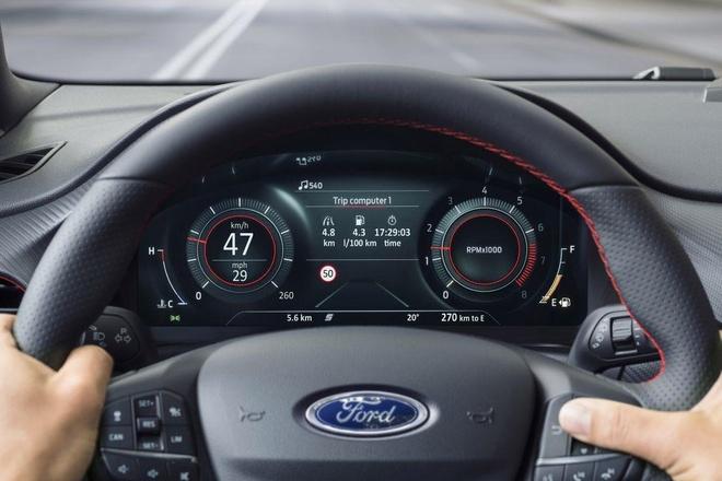Crossover co nho Ford Puma ra mat, anh em cua Fiesta va EcoSport hinh anh 10
