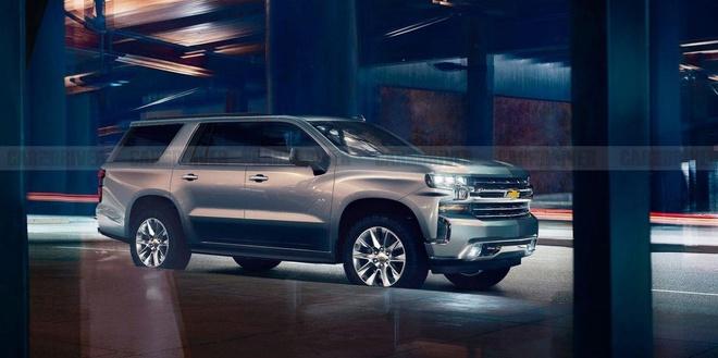 Gia tu 50.000 USD, Chevrolet Tahoe 2021 canh tranh voi Land Cruiser hinh anh 1